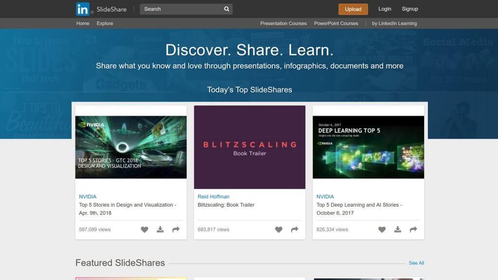 SlideShare 画面キャプチャ