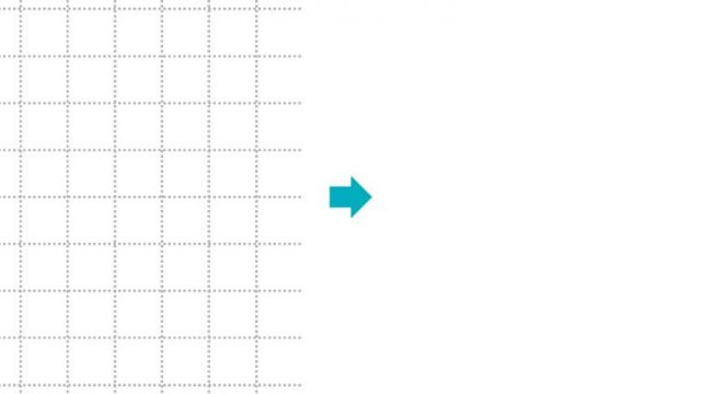 グリッド線を消す方法